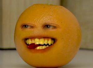 La Naranja Molesta.